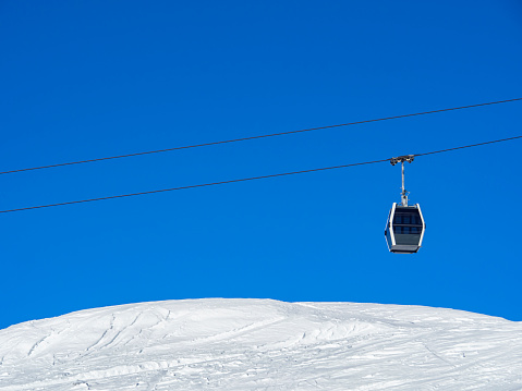 Cableway in the alps