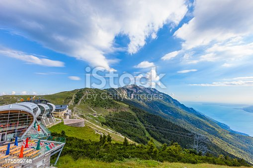istock Cableway station on Monte Baldo, Italy 175599748