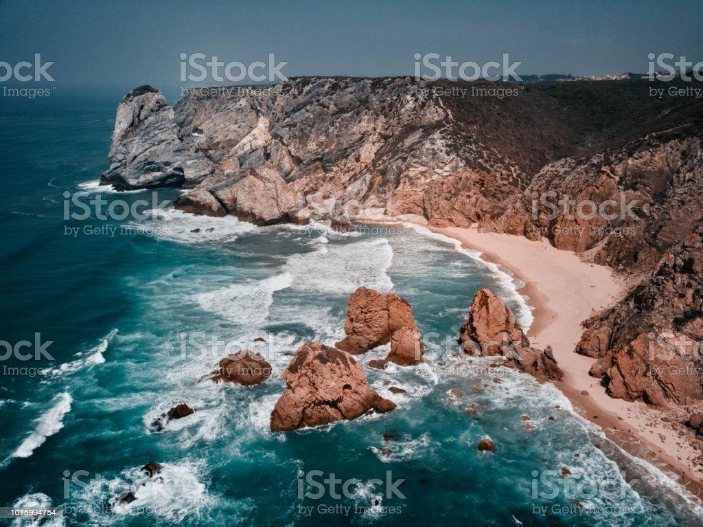 Cabo da Roca aerial shot