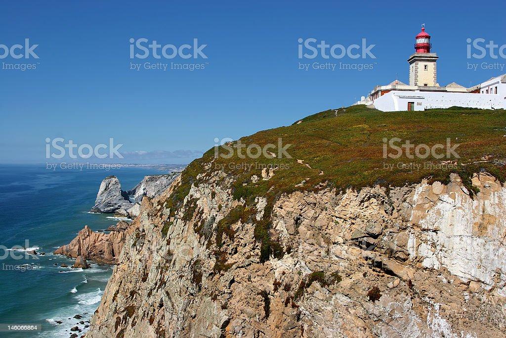 Cabo da Roca royalty-free stock photo