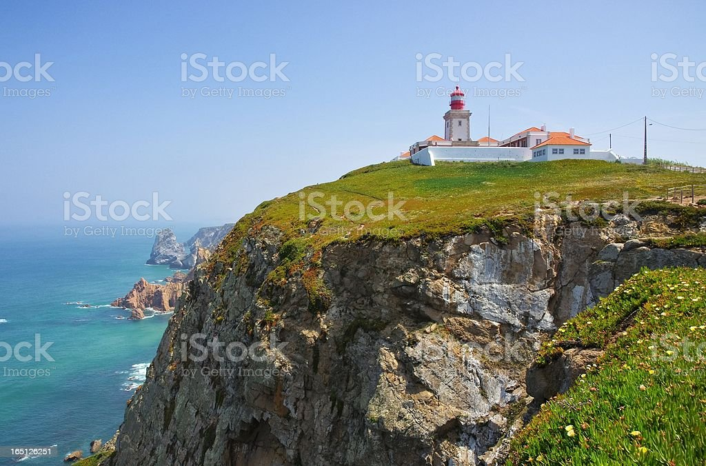 Cabo da Roca royalty-free stock photo