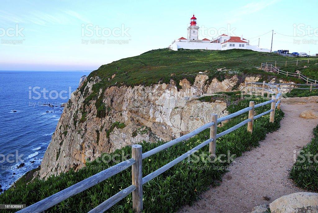 Cabo da Roca, Portugal royalty-free stock photo