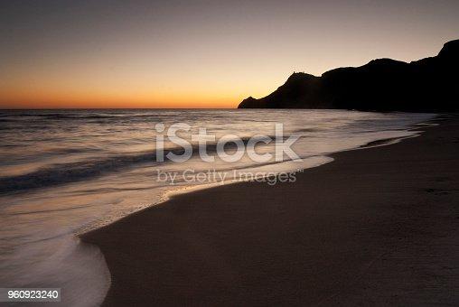 Cabo de Gata beach, Almeria, Spain, Night photography