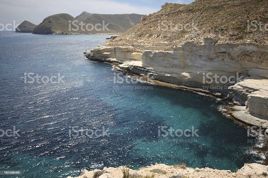 Cabo de Gata, Natural park - Spain royalty-free stock photo
