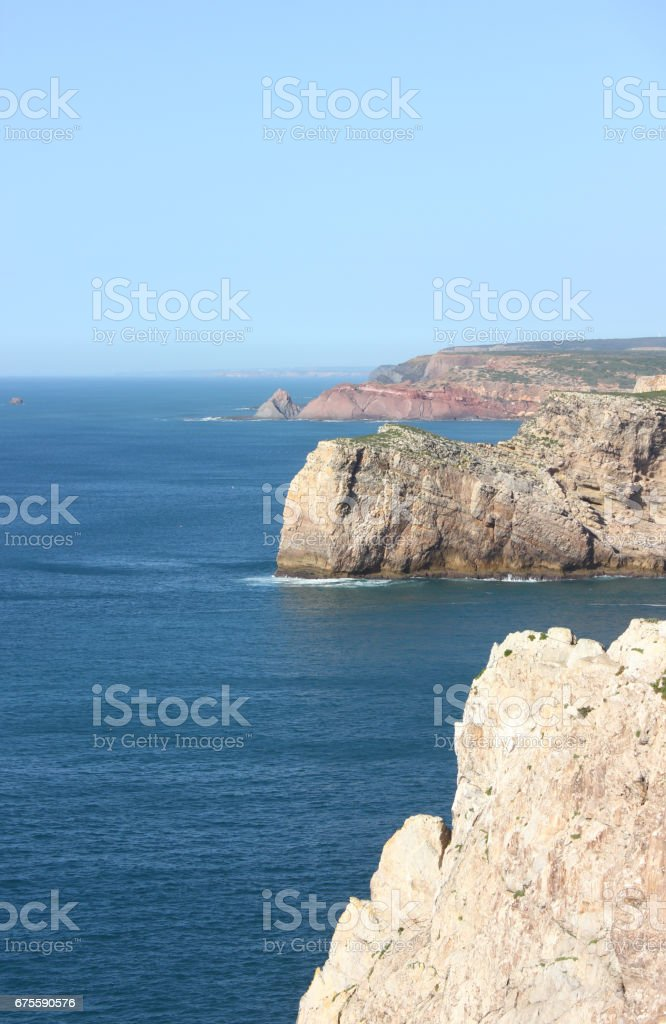 Cabo de Sao Vicente stock photo