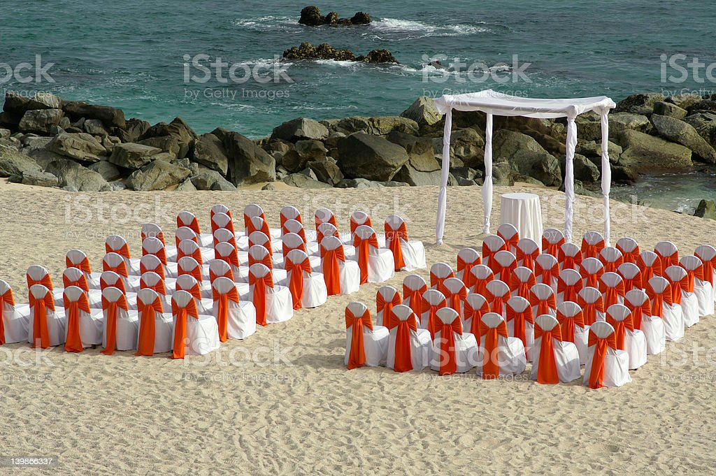 Cabo nuptial royalty-free stock photo