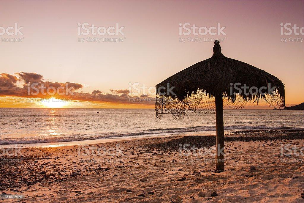 Cabo pulmo Bay stock photo