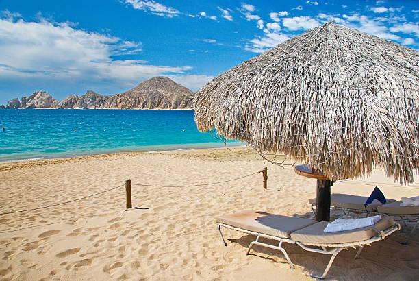 Cabo San Lucas beach stock photo