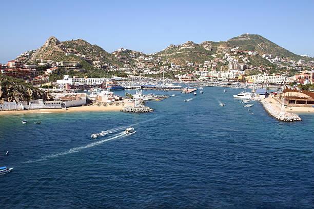 Cabo San Lucas Port stock photo