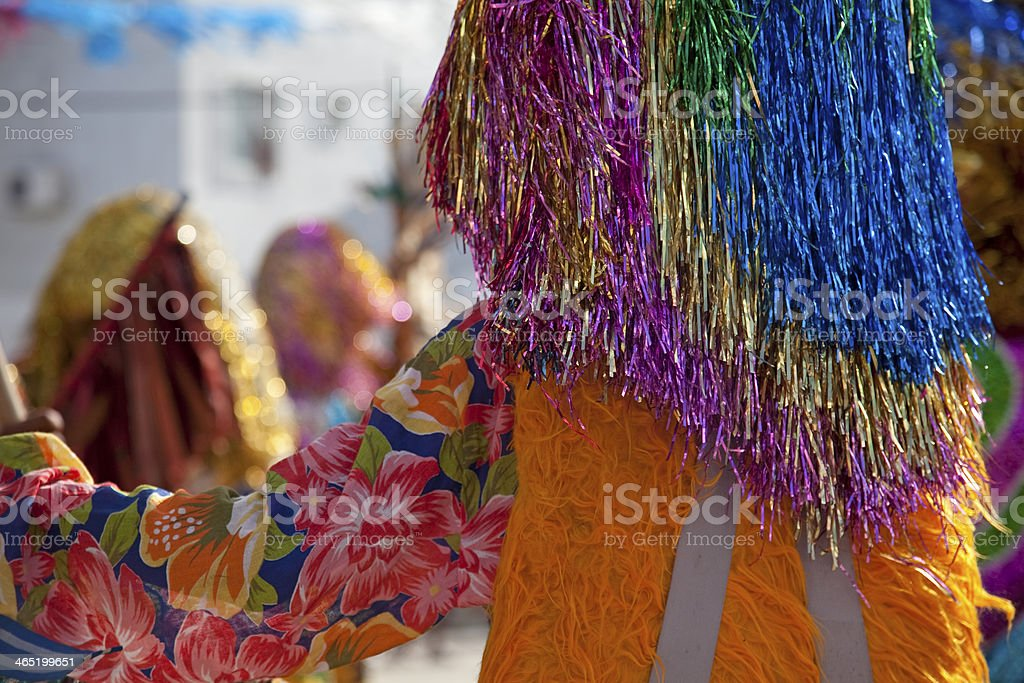 Caboclo de Lança / Lanceiro stock photo