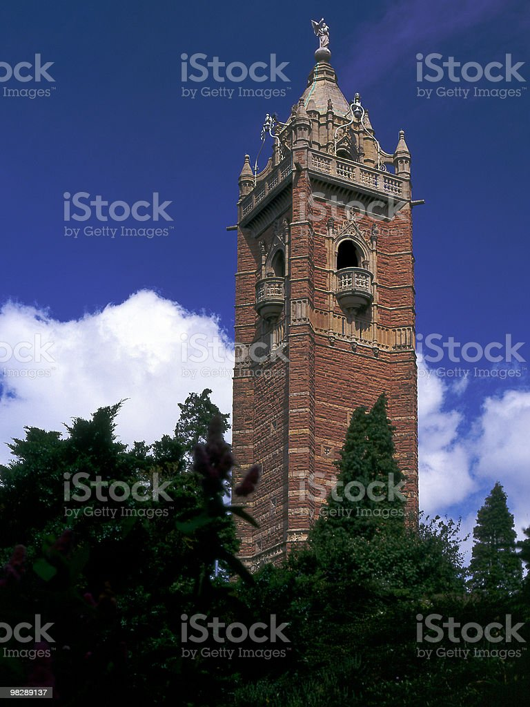 Cabots Tower, Bristol, Avon, England royalty-free stock photo
