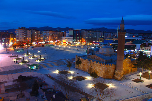 Cacabey Mosque and Madrasa, Kirsehir, Turkey