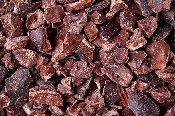 cacao nibs - stålpenna bildbanksfoton och bilder