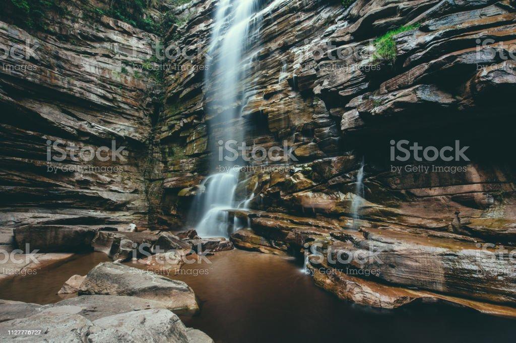 Foto de Cachoeira Mosquito Chapada Diamantina e mais fotos de stock de Arena Jacques Plante - iStock