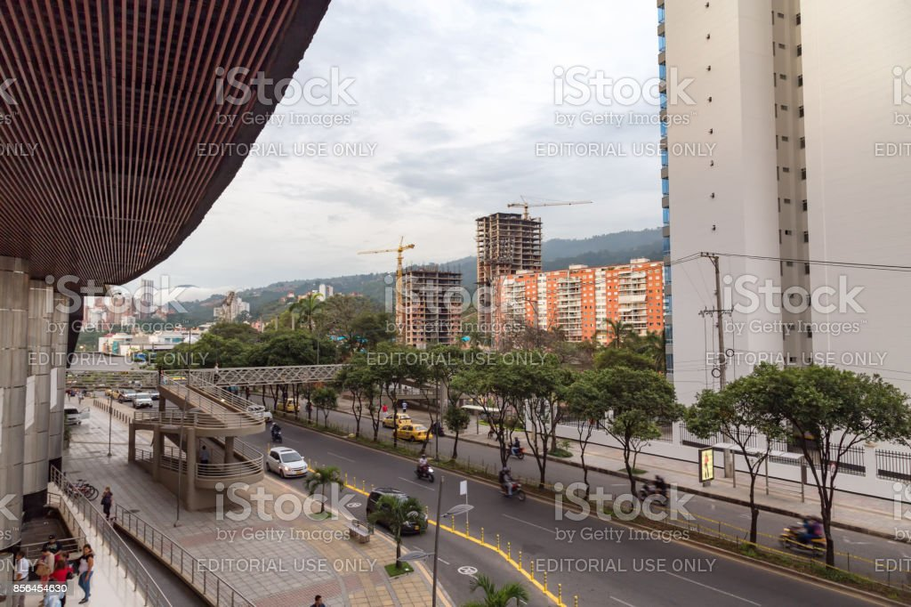 Centro Comercial Cacique in Bucaramanga stock photo
