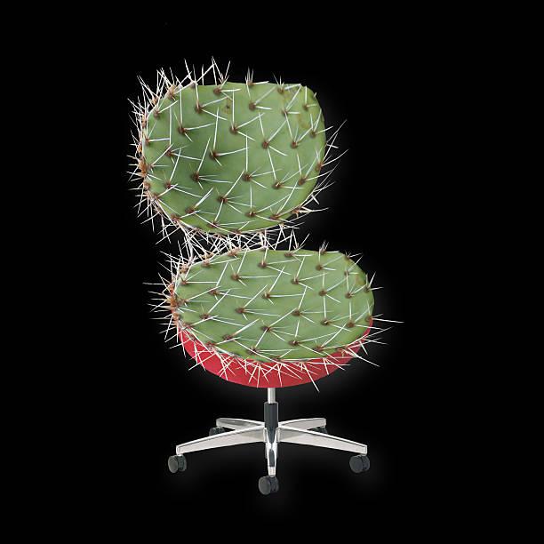 Cactus Chair stock photo