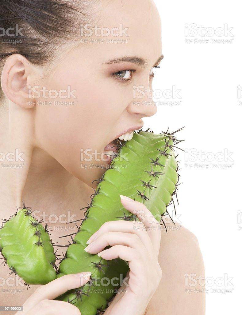 cactus games royalty-free stock photo