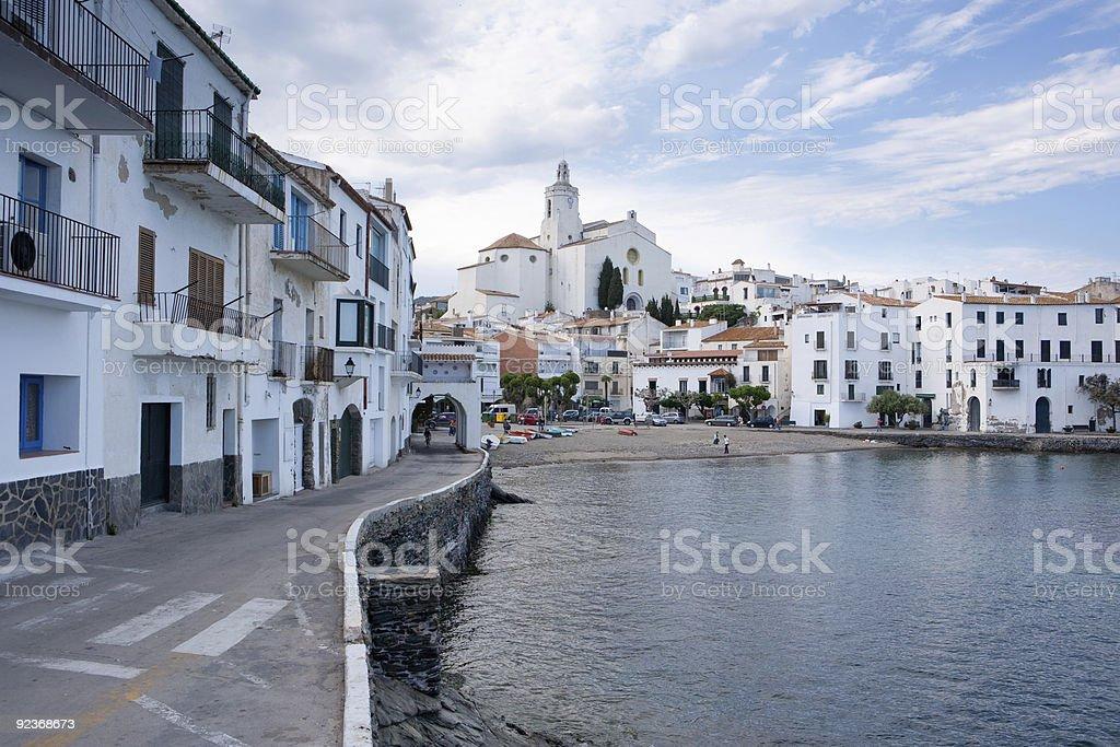 Cadaqués (Costa Brava, Spain) royalty-free stock photo