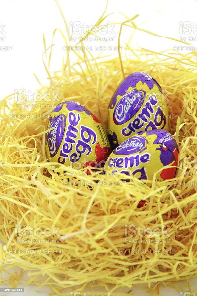 cadbury eggs stock photo