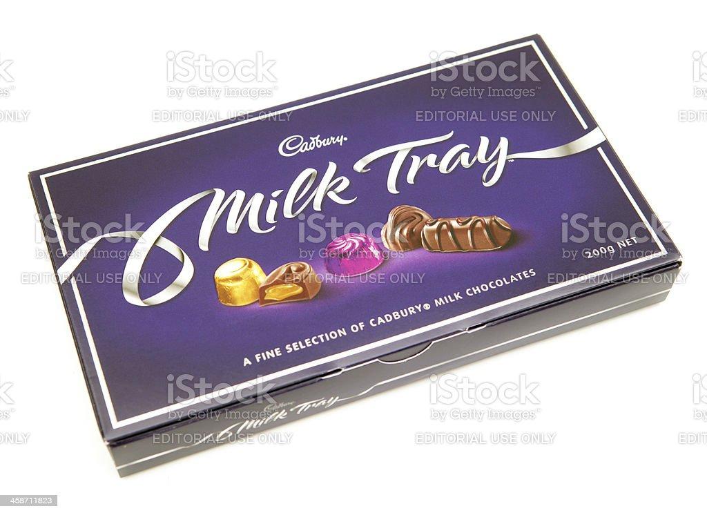 Cadbury Milk Tray Chocolates stock photo