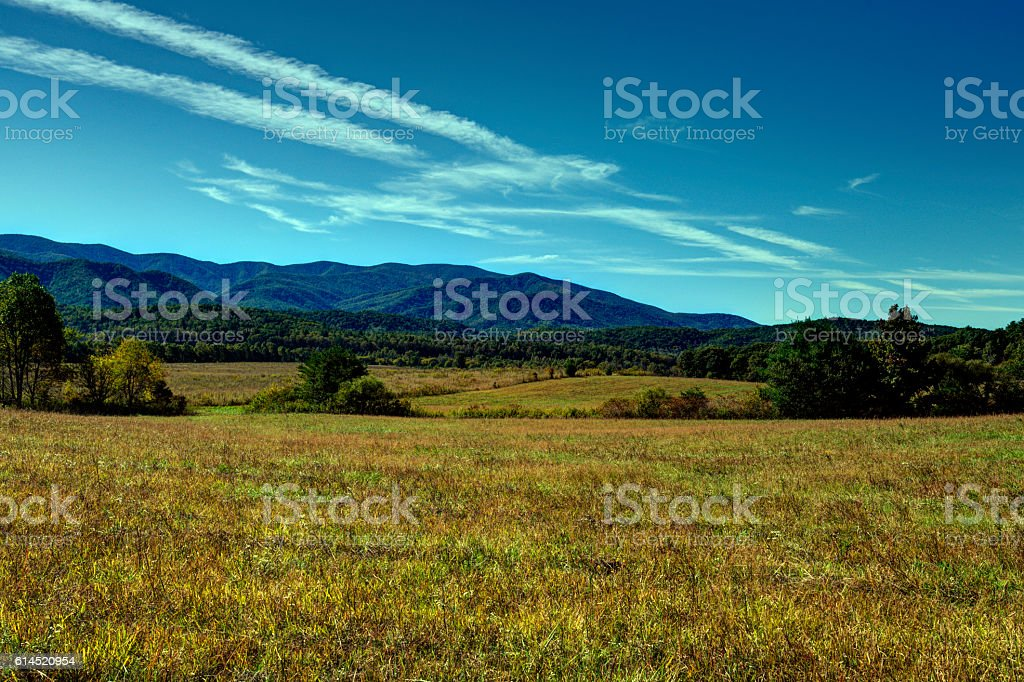 Cades Cove 101605 stock photo