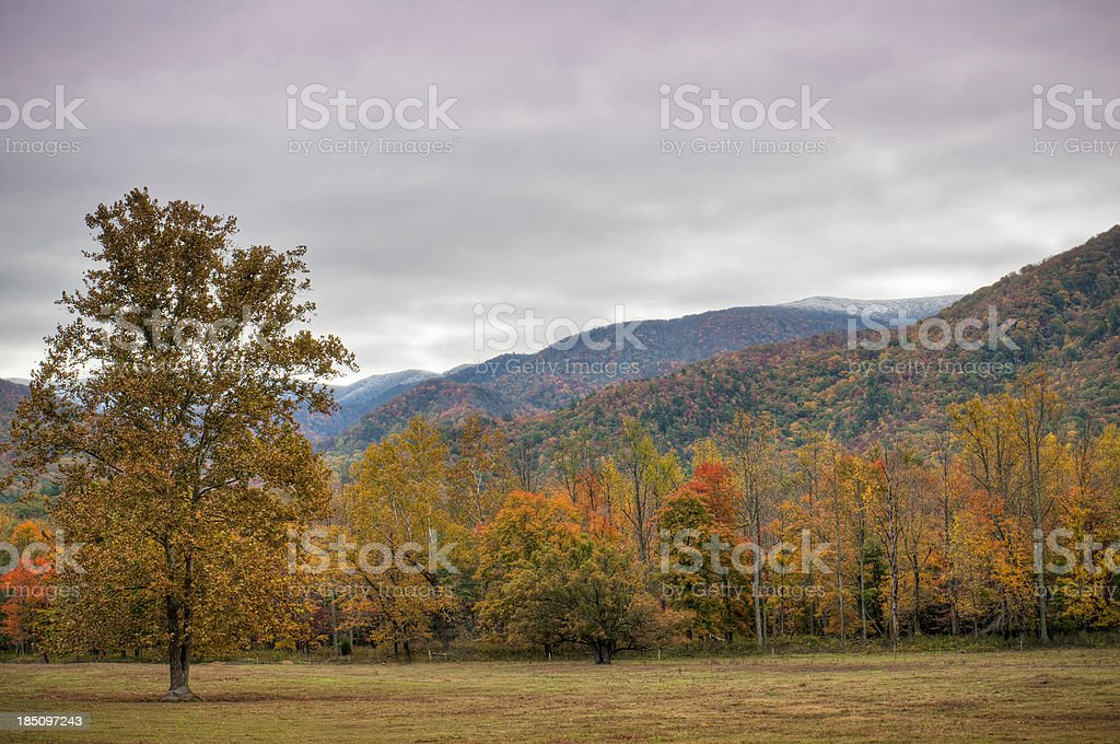 Cades Cove, Great Smoky Mountains, Gatlinburg, Tennessee, USA royalty-free stock photo