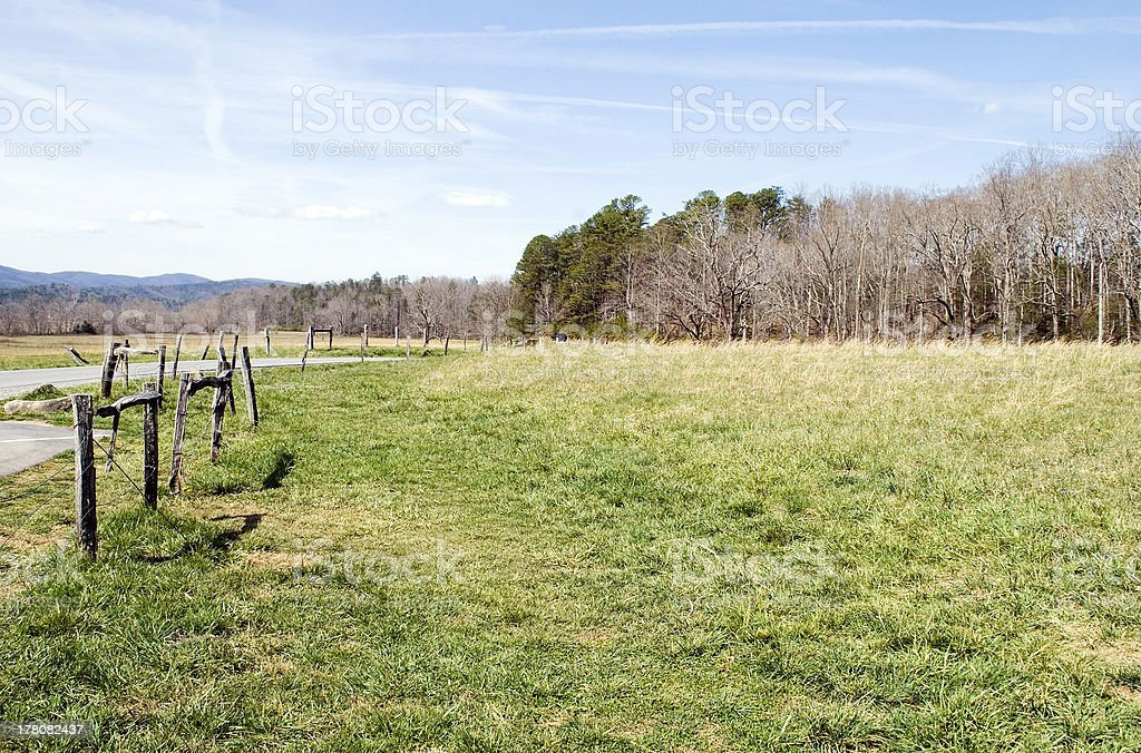 Cades Cove, Tennessee royalty-free stock photo