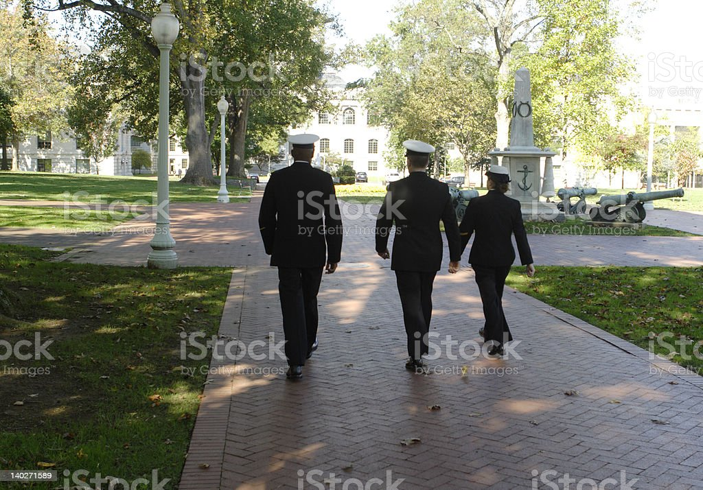 Cadets stock photo