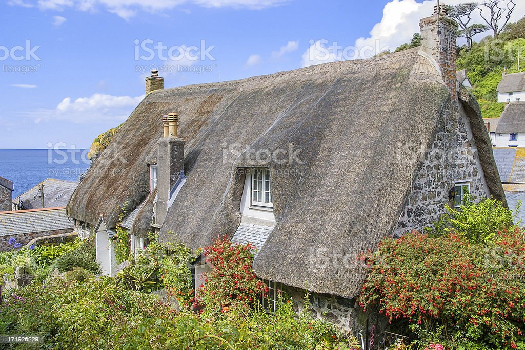 cadgwith stock photo