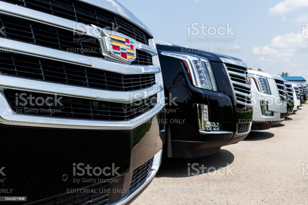 Cadillac Automobile Dealership. Cadillac is the Luxury Division of General Motors I stock photo