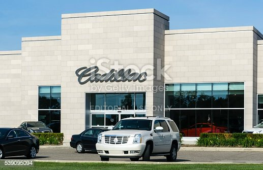 istock Cadillac Dealership 539095094
