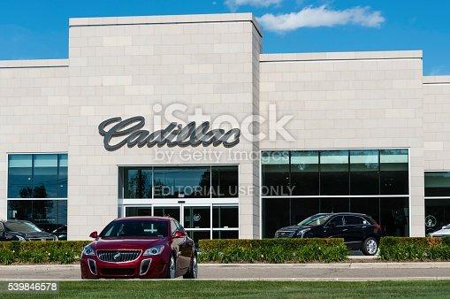 istock Cadillac Dealership 539846578
