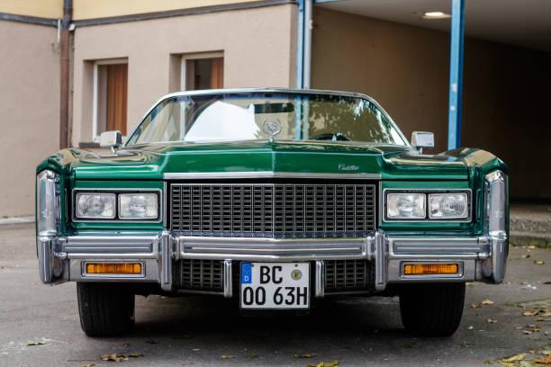 Cadillac Eldorado 2017 >> Cadillac Eldorado Oldtimer Car At The Us Car Meeting Event