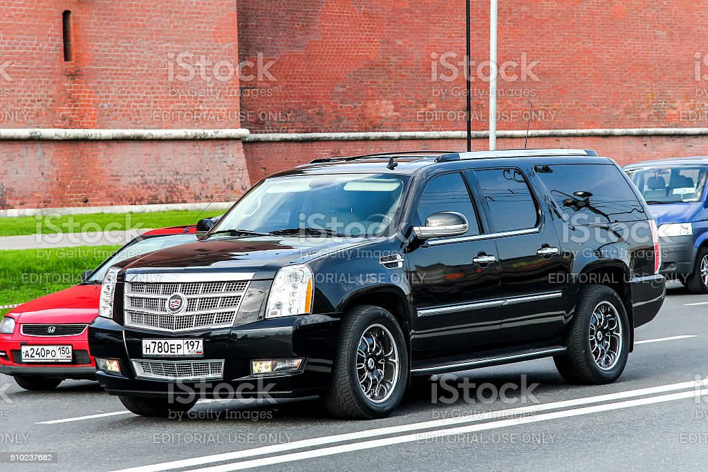 Cadillac Escalade stock photo