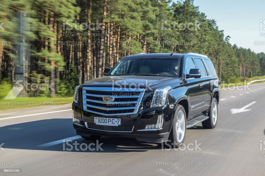 Cadillac Escalade stock photo