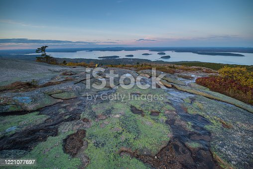 Acadia National Park, Maine, Bar Harbor, Autumn, Cadillac Mountain