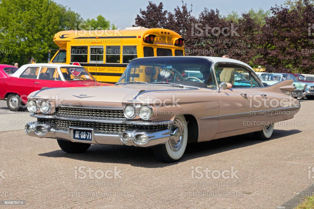 1959 Cadillac Sedan De Ville classic car stock photo
