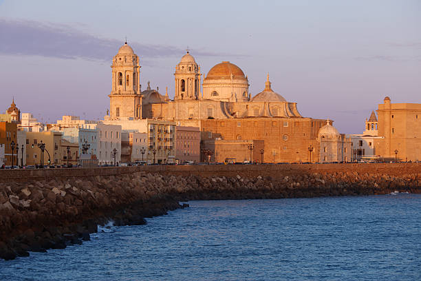 Cadiz Cathedral stock photo