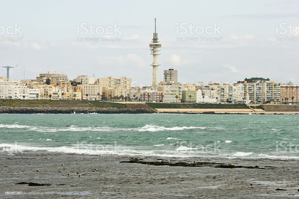 Cadiz in Andalucia, Spain royalty-free stock photo