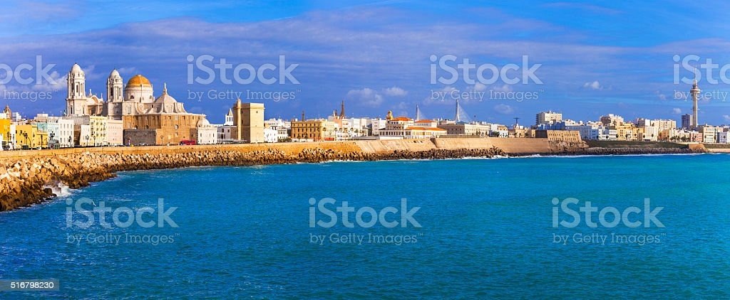 Cadiz,Spain. stock photo