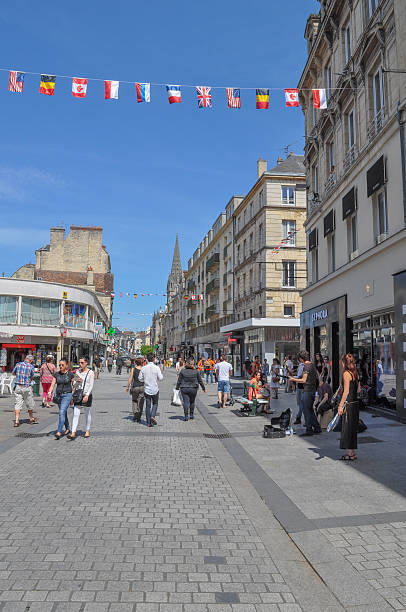 caen france - caen stock pictures, royalty-free photos & images