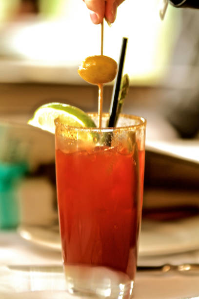 Caesar oder Bloody Mary-Drink – Foto