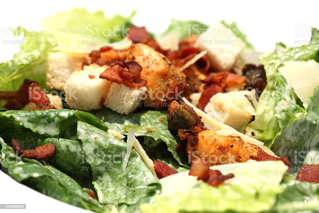 Caesar Salad royalty-free stock photo