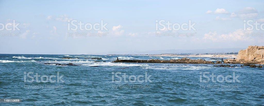 Caesarea, Israel . royalty-free stock photo