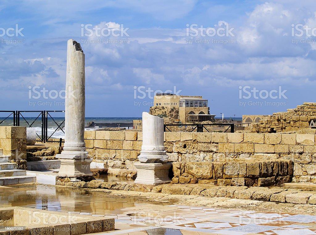 Caesarea Maritima stock photo