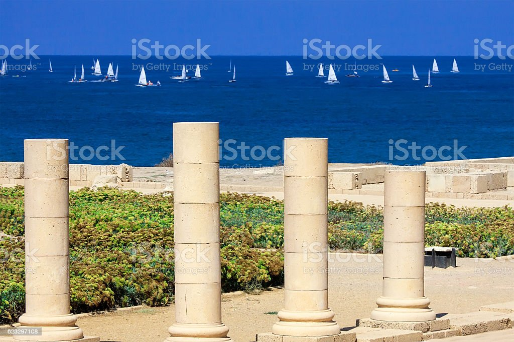 Caesarea stock photo