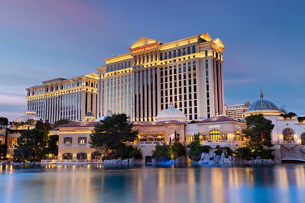 Caesars Palace Hotel & Casino stock photo