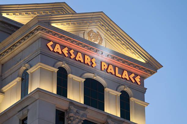 Caesars Palace stock photo