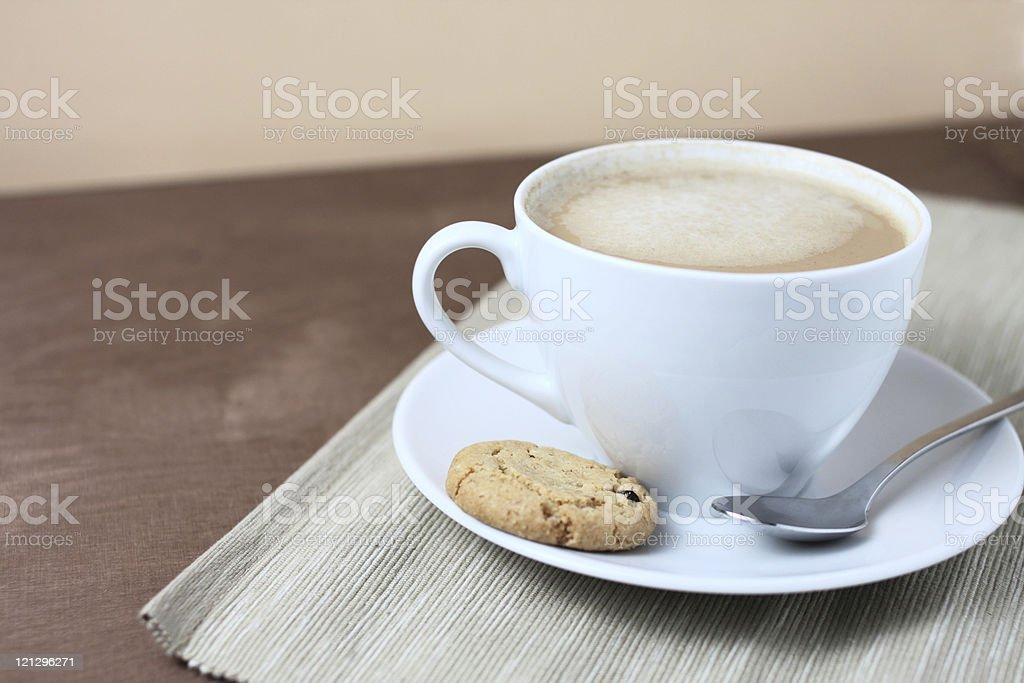 café au lait stock photo