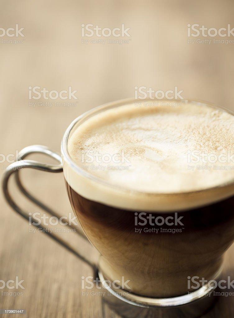 Café Crème royalty-free stock photo